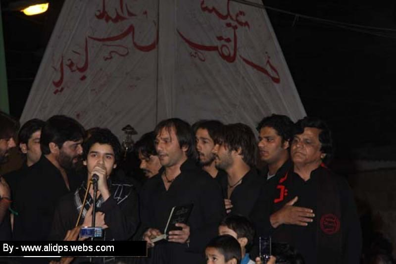 Nadeem sarwar live with ali shanawar and ali jee at the occasion of